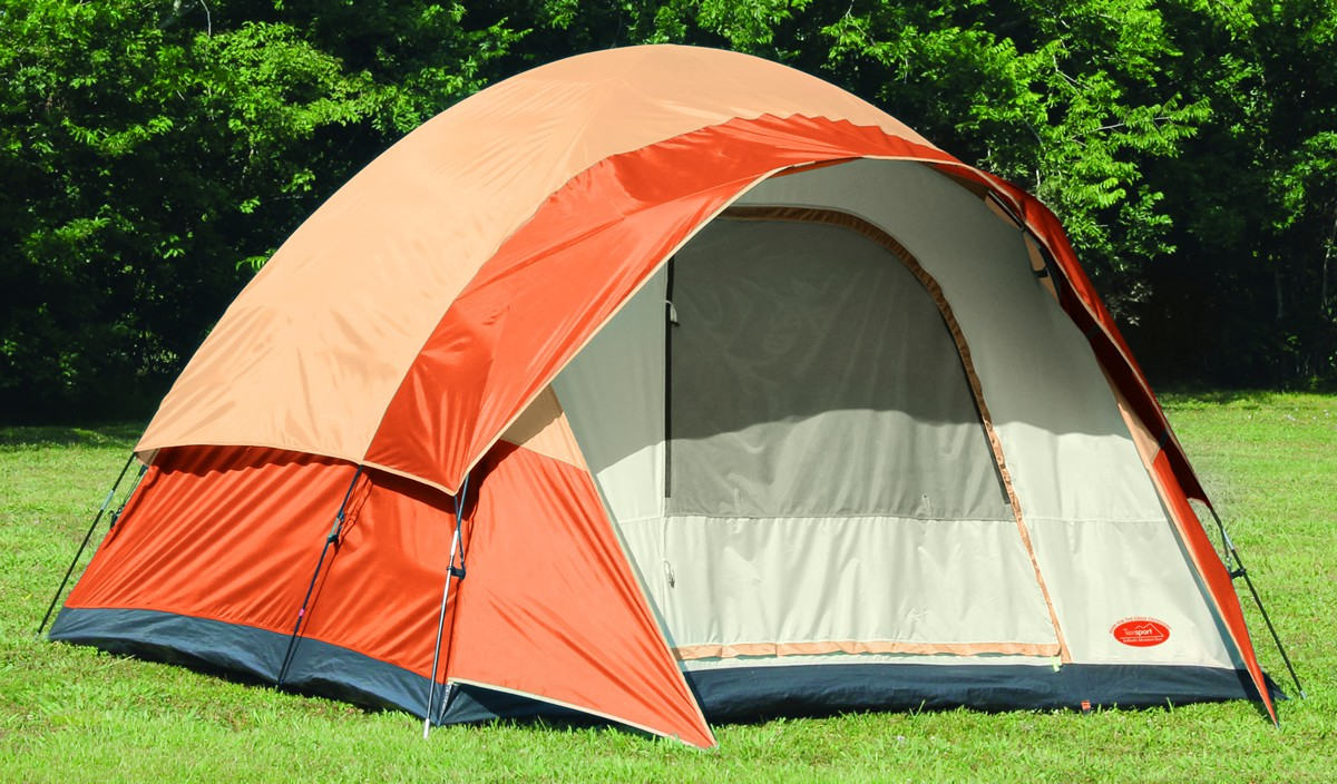 C&ing Station & Camping Station - Texsport Beech Point Family Dome Tent (Sleeps 6)