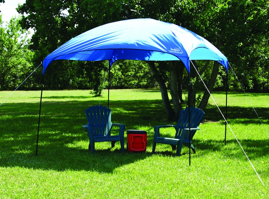 Texsport Dining Canopy - Blue (Case pack of 4) & Camping Station - Texsport Dining Canopy - Blue (Case pack of 4)