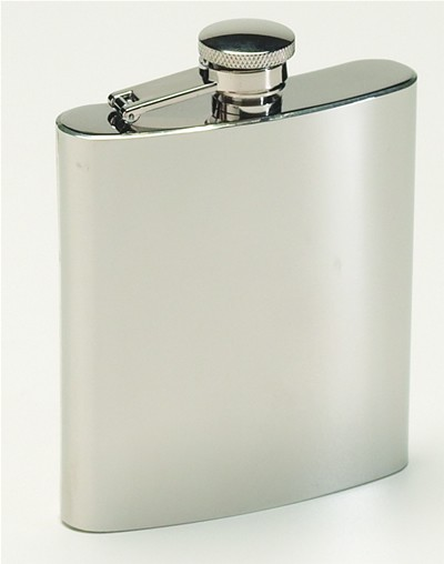 Stainless Steel Hip Flask (Case pack of 36)