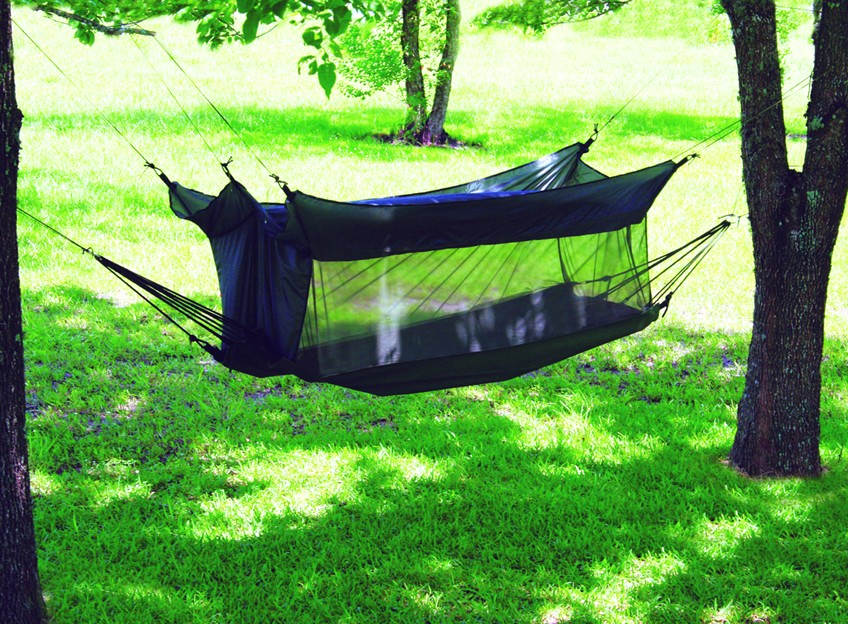 Texsport Wilderness Hammock with Mosquito Netting: