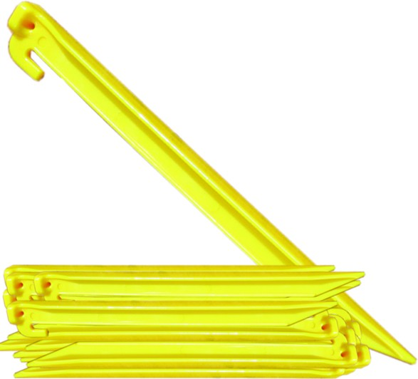 Bulk Packed (200) 12u0027u0027 Plastic Tent Stakes  sc 1 st  C&ing Station & Camping Station - 12