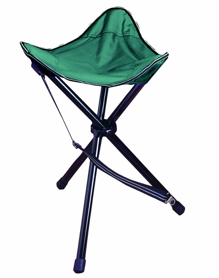Camping Station Texsport Folding Tripod Stool Case Pack