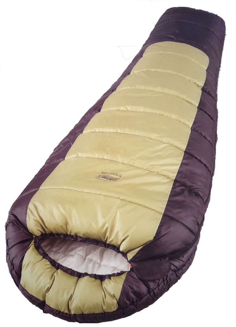 Coleman Grey Fox Mummy Sleeping Bag