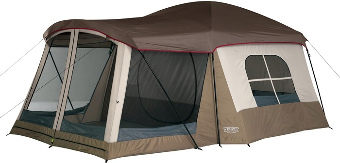 Wenzel Klondike Family Tent  sc 1 st  C&ing Station : tents with screen room - memphite.com