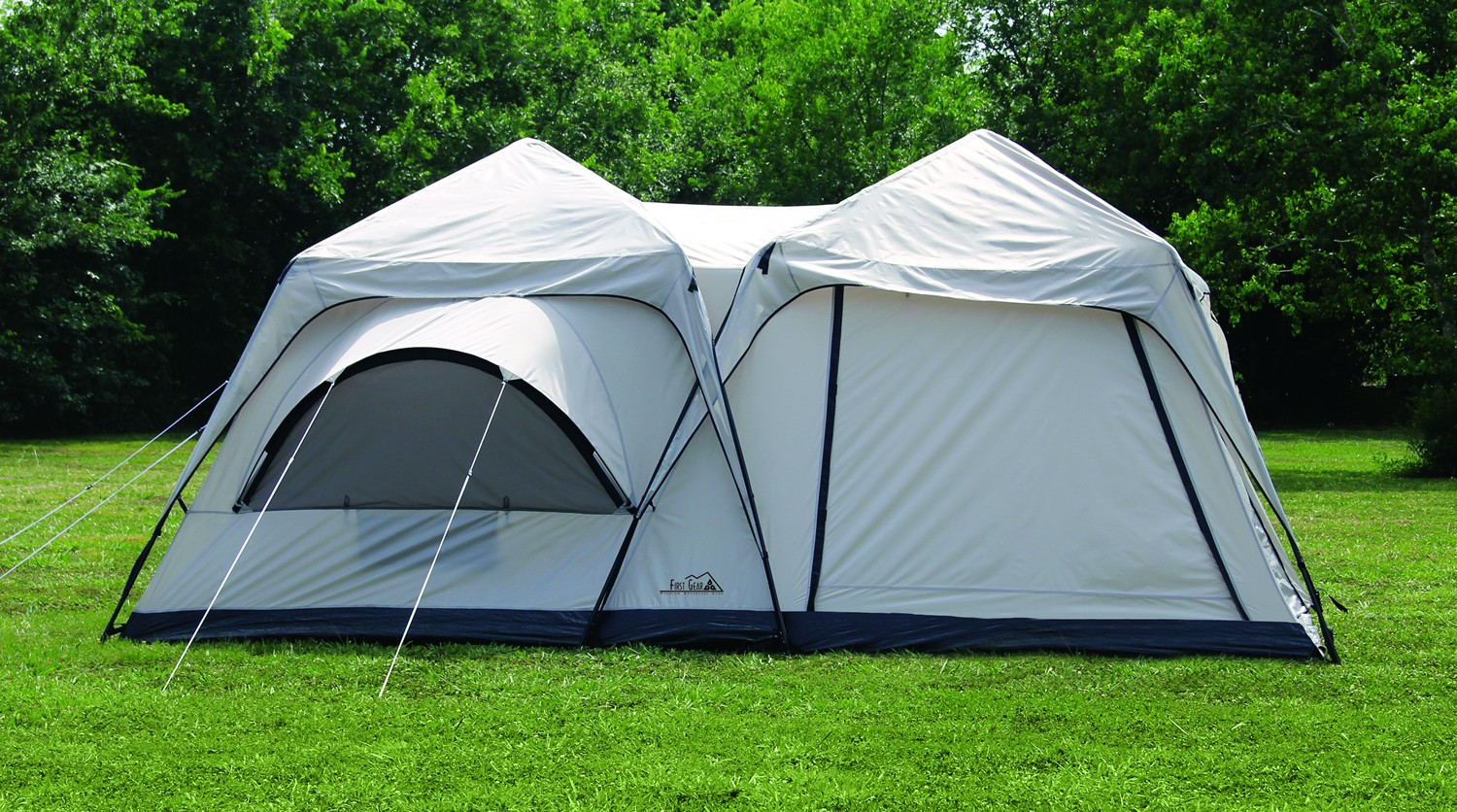 Twin Peaks Two-Room Cabin Dome Tent : two room tents - memphite.com