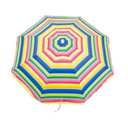 Rio Brand 6 1/2' Sandblaster Beach Umbrella