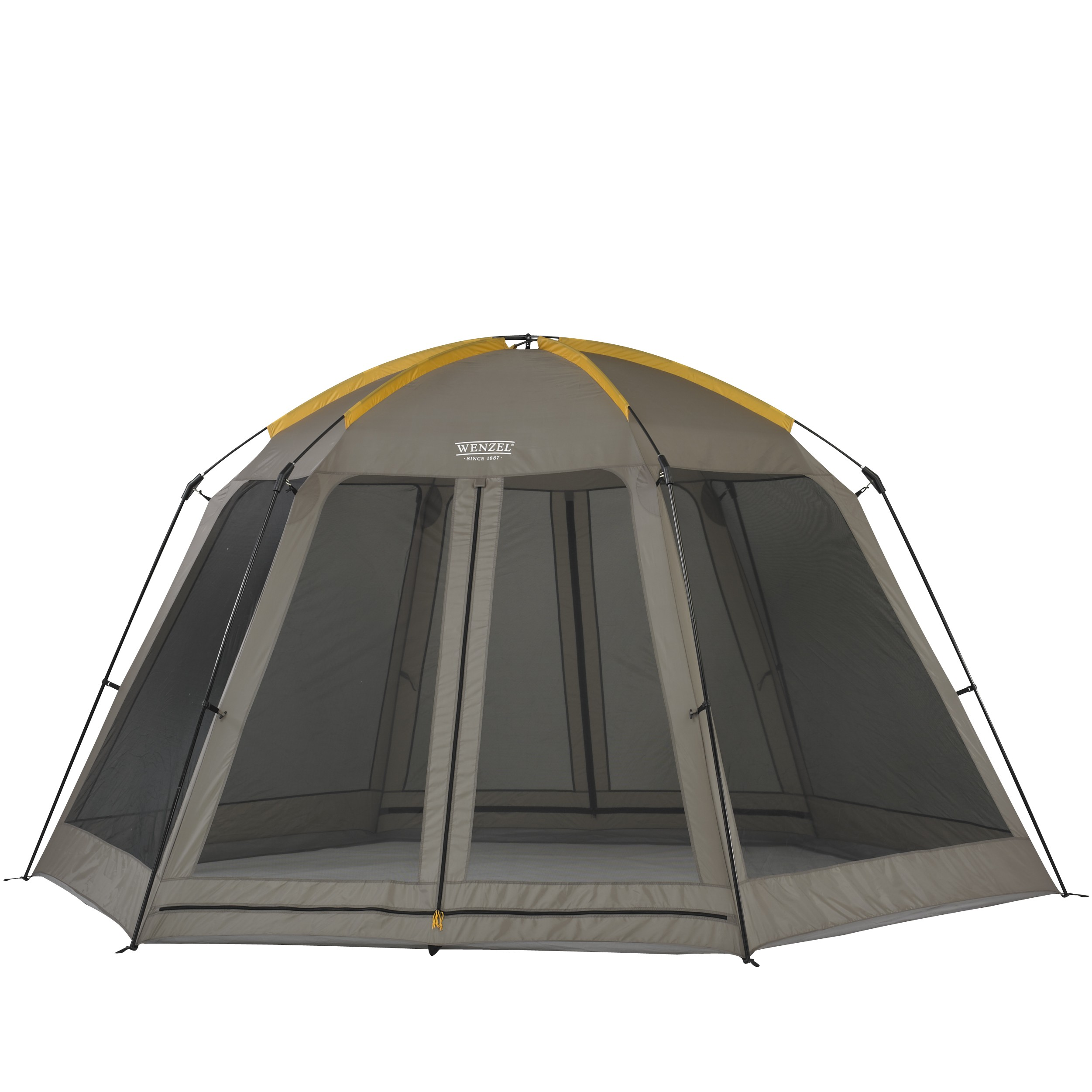 Biscayne  Hexagon Screened Gazebo