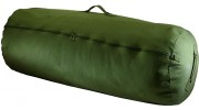 OD Green Zippered Canvas Duffel Bags (Case pack of 12)