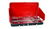 High Output Dual Burner Piezo Igniter Propane Stove (Case pack of )