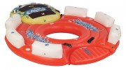 Sevylor Inflatable 108 Inch Mothership Island with Clutch Towable