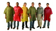 Vinyl Ponchos - 6 Colors to Choose