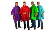 Resort Colors Vinyl Poncho (Case of 24 Pcs. Assorted Colors)