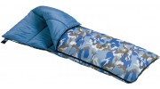 Blue Camou Rectangular Kids Sleeping Bag
