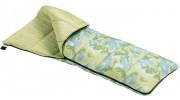 Light Green Camou Rectangular Kids Sleeping Bag