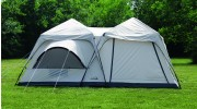 Twin Peaks Two-Room Cabin Dome Tent