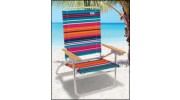 The Original Easy In-Easy Out Beach Chairs - Bright Stripes