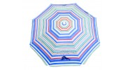 Tommy Bahama 6 ft. Sun Blocking Beach Umbrella - Multi Color Striped