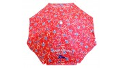 Tommy Bahama 6 ft. Sun Blocking Beach Umbrella -  Hawaiian Floral