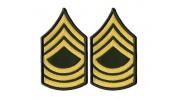 US Army Master Sergeant Military Uniform Insignia Iron On Patch